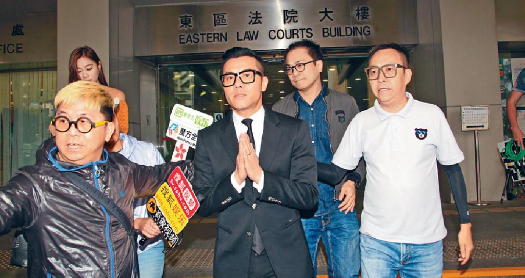 ■去年初,梁炳因酒駕惹官非。