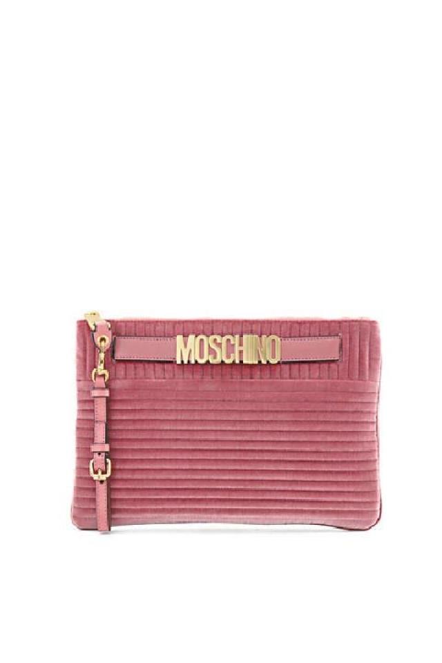 Moschino 粉紅色手挽袋 原價$4,350  優惠價$1,305