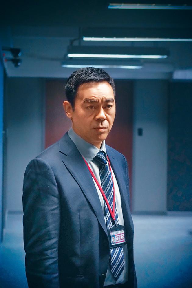 ■青雲在《廉政風雲》中,扮演廉署總調查主任。
