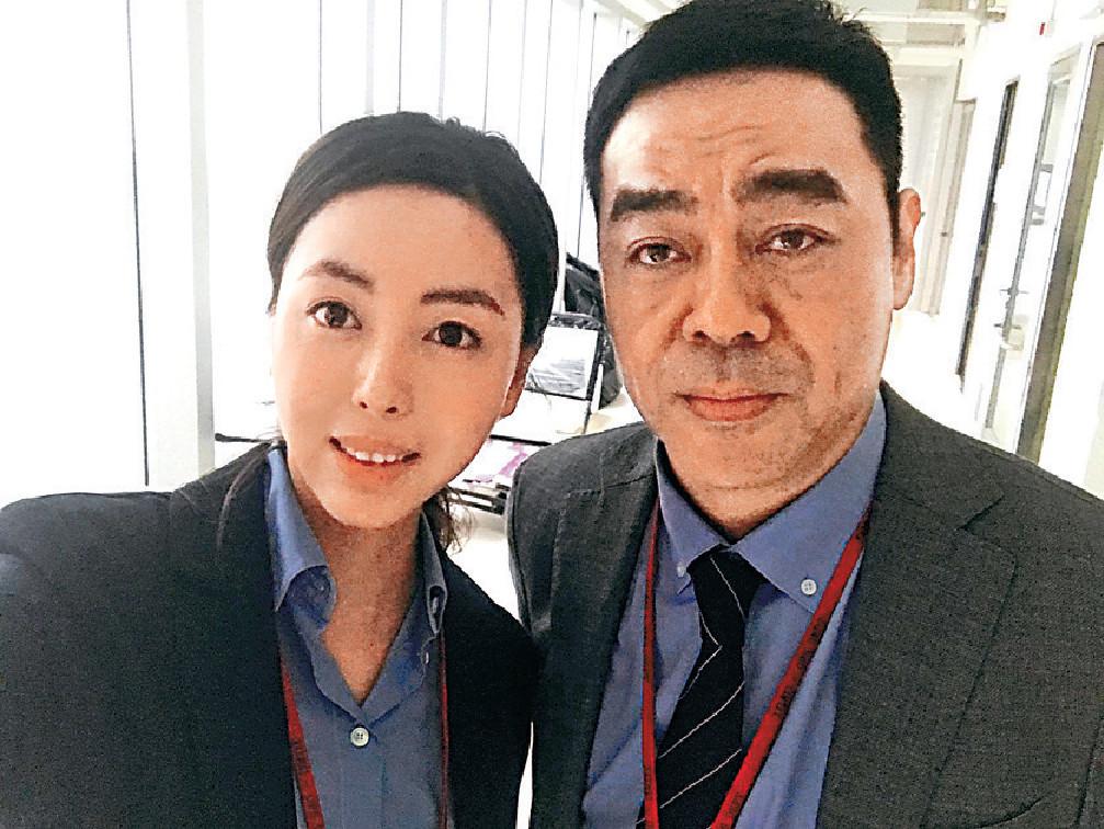 ■劉青雲在片中演常倩的上司。