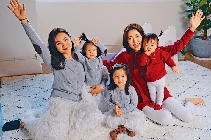 兩位靚太Sue和Sammie分別育有一名及兩名囡囡,她們說女兒是創立品牌的原動力。