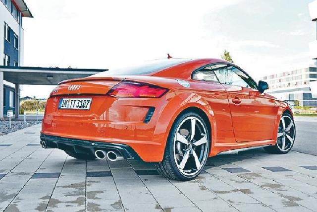 德國首試  TT S小改大趣