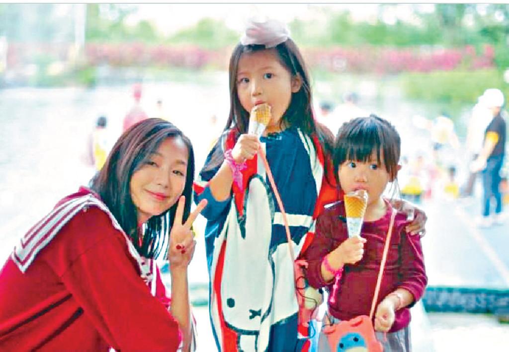■阿Yu兩個囡囡信希和愛希,都已讀小學。