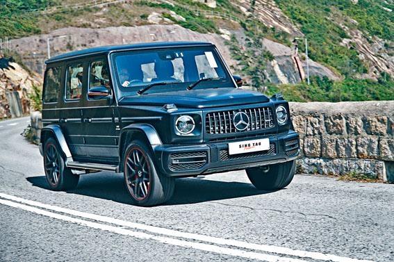 G63 Edition One特別版配上啞黑色車身和22吋胎軨。