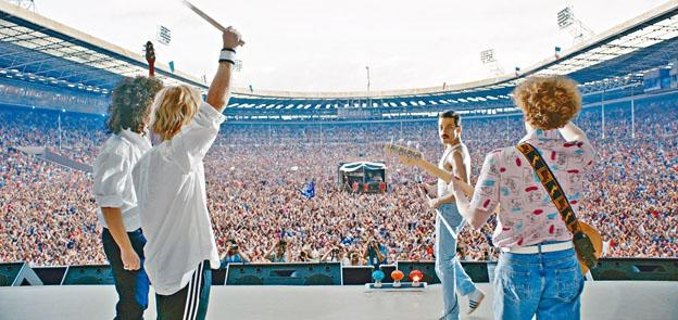 ●《波希米亞狂想曲:搖滾傳說》,重演英國經典樂隊Queen搖滾傳奇。