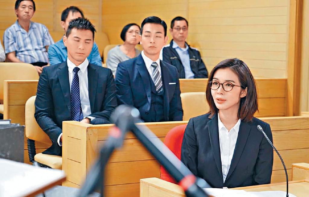 ■麥明詩暫時冇意轉行做律師,因為想在娛樂圈試更多新嘢。
