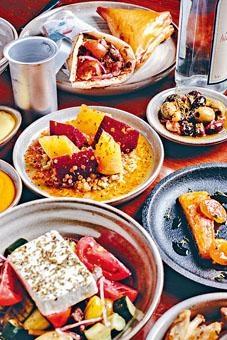 ●剛開業的希臘菜餐館Artemis & Apollo供應希臘沙律等地道菜式,健康滋味。
