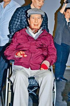 賭王何鴻燊正在養和醫院休養。