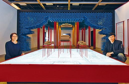 康文署一級助理館長(特別項目)劉綺芳和客席策展人蕭國健表示,期望通過展覽,讓大家了解紫禁城的工藝和建築。