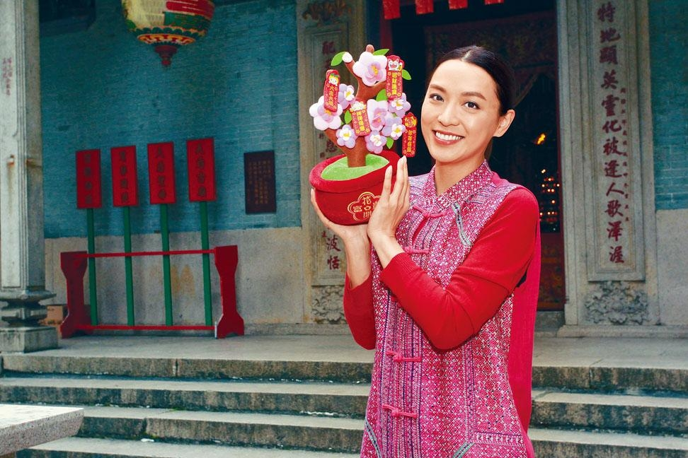 ■煒哥今個農曆年在家中擺放桃花,催旺桃花運。