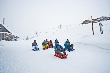 瑞士Valais  激玩落山雪橇車