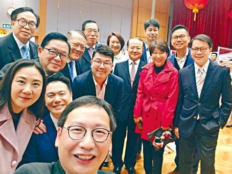 中聯辦趁元宵佳節舉行春茗團拜,立法會主席梁君彥及建制派議員出席。