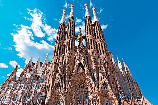 ■聖家堂是高迪的曠世巨作,精湛的工藝令世人讚歎。