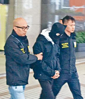 涉到澳門運毒的港青被司警拘捕。