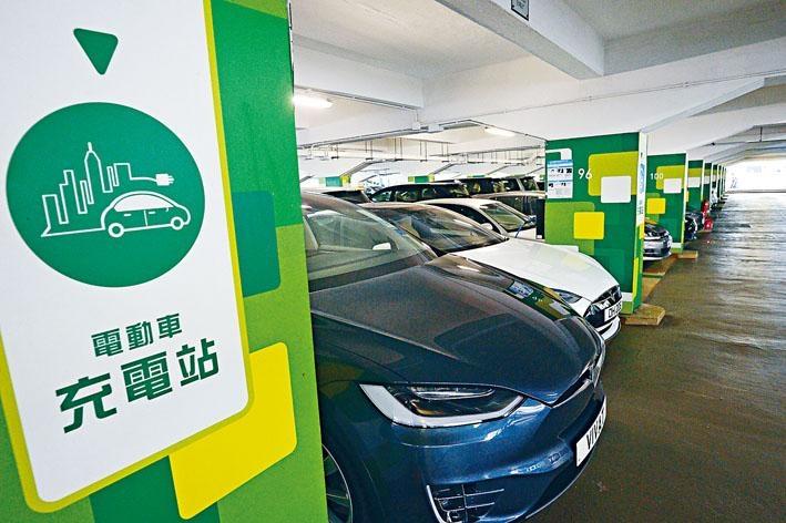 現時全港只有二千多個電動車公共充電設施。