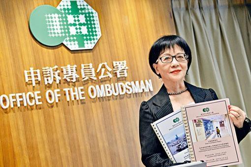 申訴專員劉燕卿批評,學生健康服務計畫「非常不足,應做得更好」。