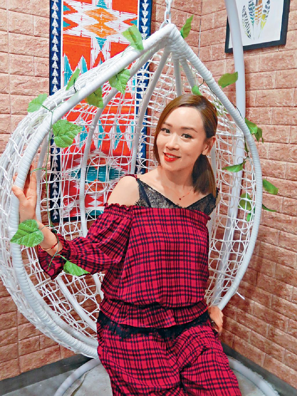 ■思琦早前返娘家TVB做親子節目嘉賓,她希望新歌也可返去宣傳。