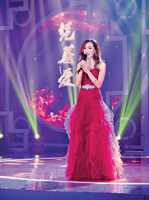 ■14年思琦參與內地歌唱節目《粵唱越響》,唱歌實力已獲肯定。