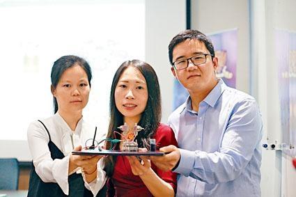 中大機械與自動化工程學系教授盧怡君及研究團隊,成功研發出安全、高效和長壽的空氣電池。