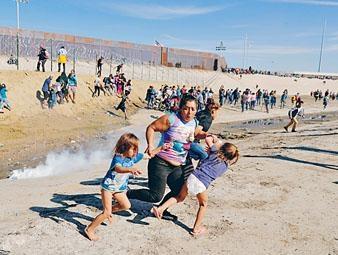 ■中方報告指美國人權狀況劣迹斑斑,中美洲非法入境者被逼骨肉分離。