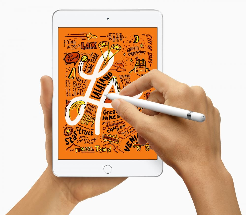 7.9吋的iPad mini也可用上第一代Apple Pencil。