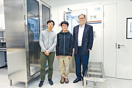 喬治.斯穆特希望量子光學天文攝影機的實驗室項目,有助提升香港在天文物理及宇宙學研究方面的實力。