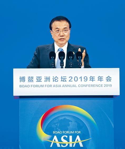 總理李克強在博鰲演講時透露,中國經濟發展數據「好於預期」。