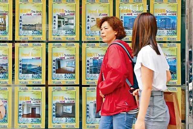 ■差估署最新數據指,二月私樓指數按月升百分之一點三三,並連升兩個月。