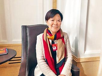 ■朱葉玉如表示,香港與灣區合作,可發揮協同效應。