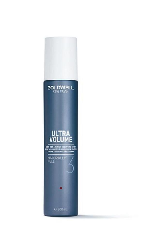 即Check!美髮造型產品 Goldwell自然豐盈吹髮噴霧 $180 此噴霧能提升頭髮的抓握感和豐盈感,帶來柔韌豐盈的效果,用家亦可以反梳動作,營造自然毛燥質感。