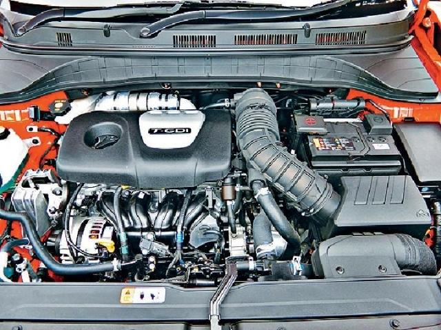 ■1.6 GDI Turbo引擎輸出27kgm扭力。