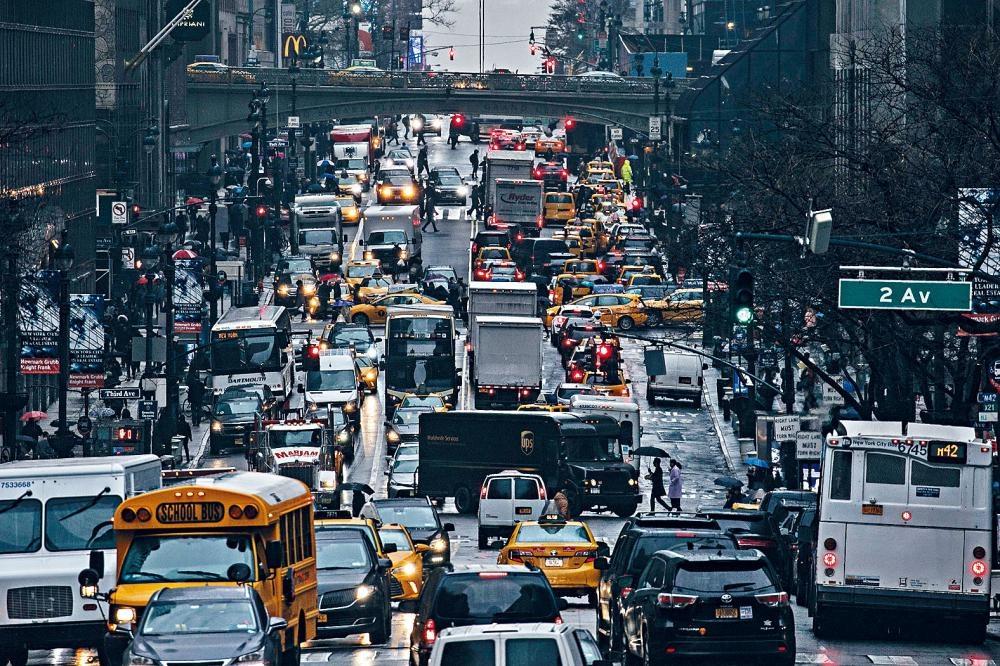 奧本尼通過,「擁擠費」計劃將於2021年生效。Todd Heisler/紐約時報