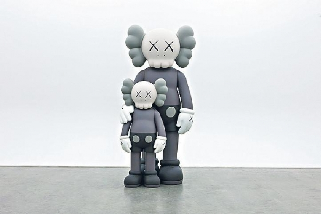 《KAWS:ALONG THE WAY》展覽。