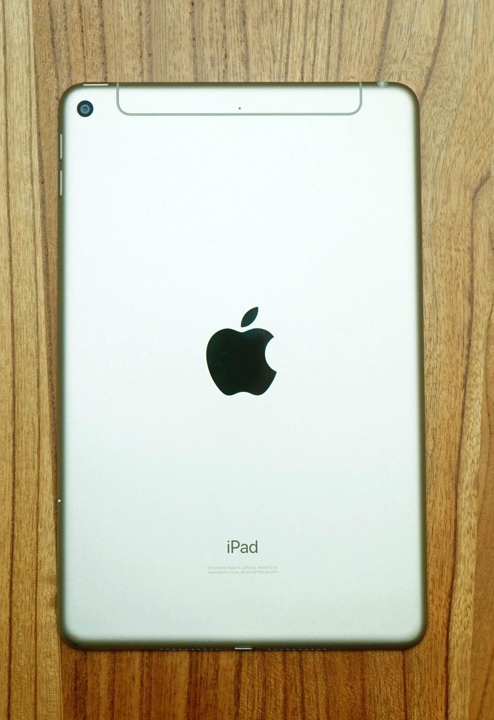 新iPad mini繼續以纖薄小巧機身作賣點。