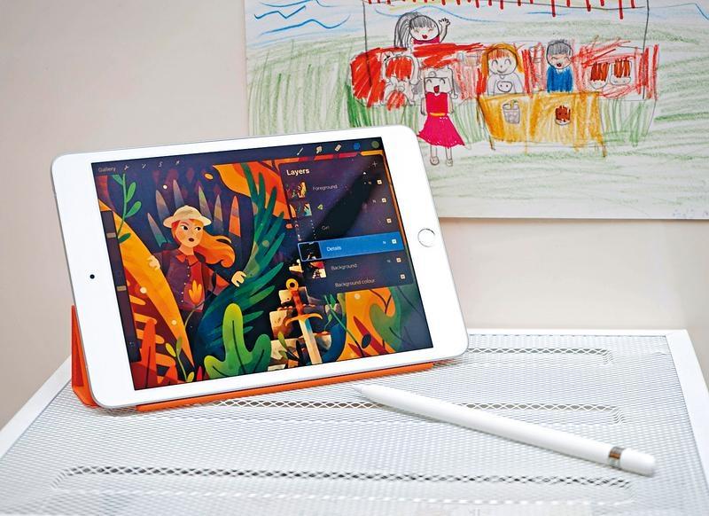 新iPad mini輕便筆記