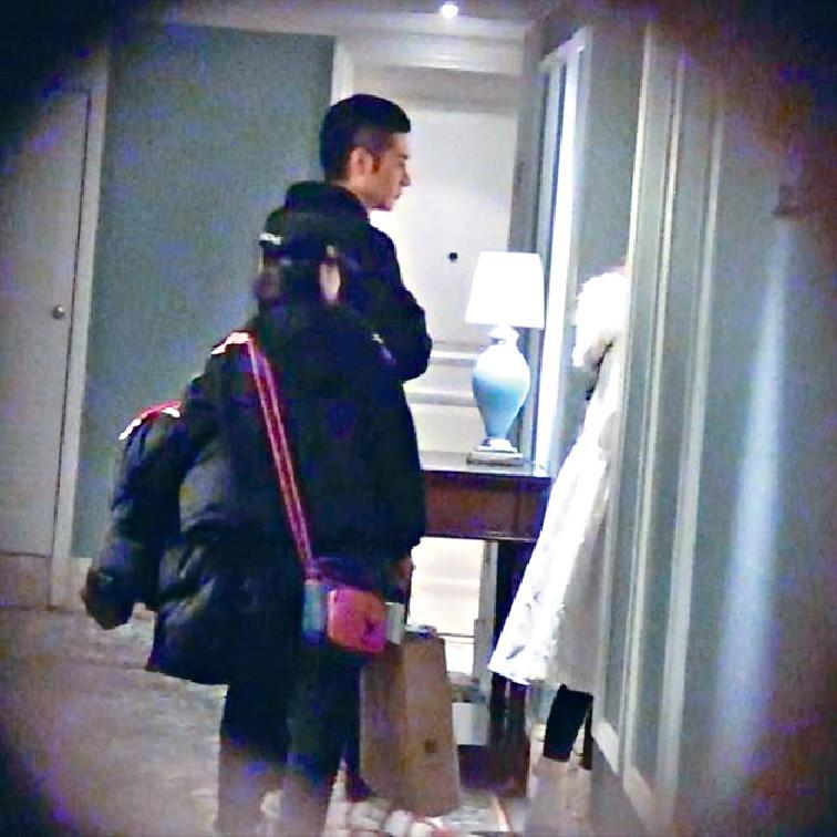 ■張丹峰被爆與畢瀅同回酒店。網上圖片
