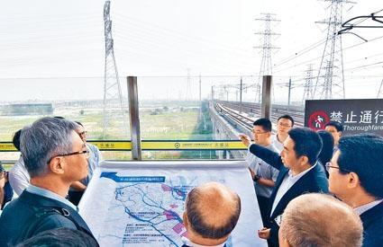 港科大(廣州)佔地面積一點一三平方公里,最快將於本年底動工。