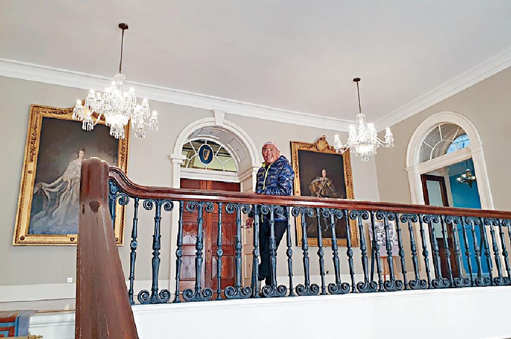 ■顏福偉首次到Dublin Castle,他稱很值得參觀。