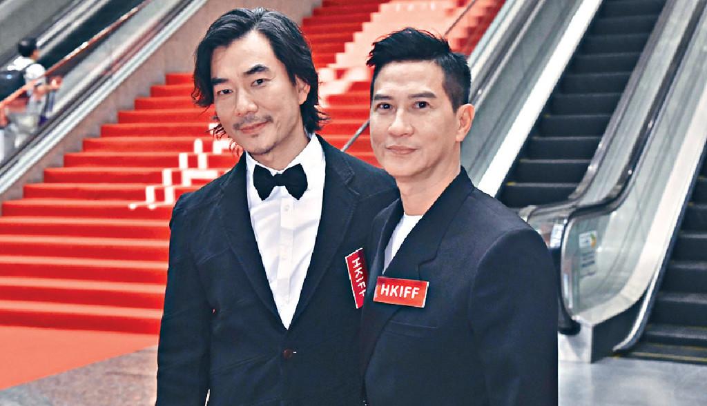 ■好多戲拍嘅張家輝早前出席第43屆香港國際電影節開幕活動。