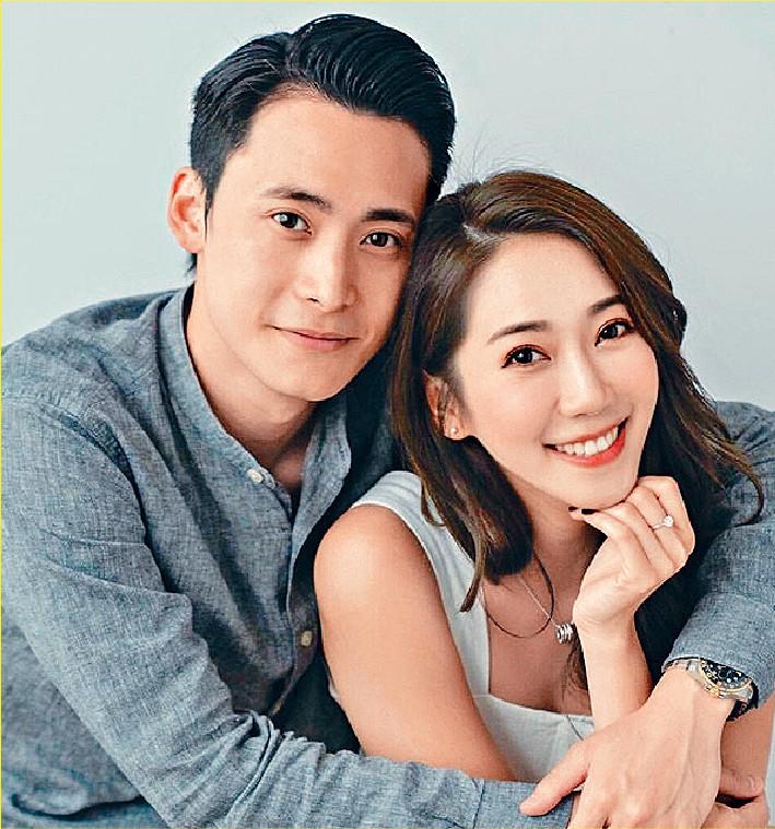 ■未婚夫攬住Jessica,後者手上的求婚戒指非常搶眼。
