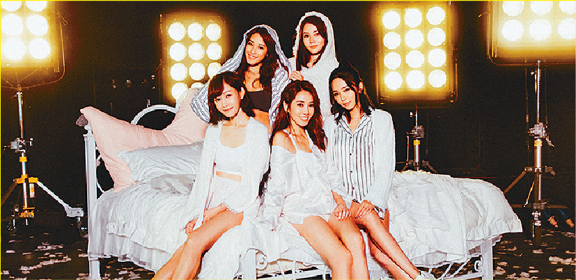 ■Super Girls其他成員齊賀隊友做人妻。資料圖片