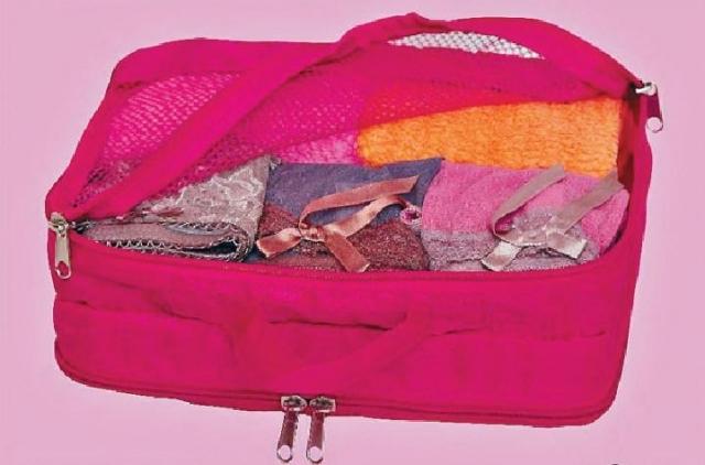旅行收納袋 原價$19.9至$39.9 (現在七五折發售)
