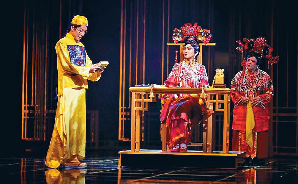■早前,陳潔儀分別喺台灣、新加坡做過英語音樂劇《慈禧太后》。