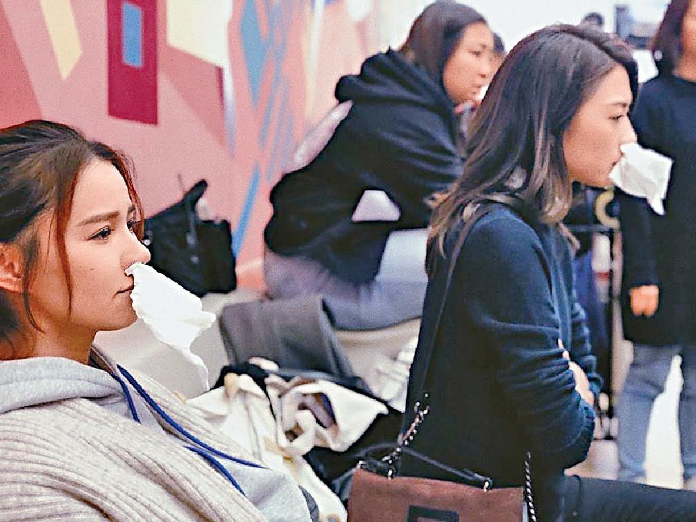 ■早前翠如和Shiga帶病忙拍新劇,兩姊妹同病相憐。