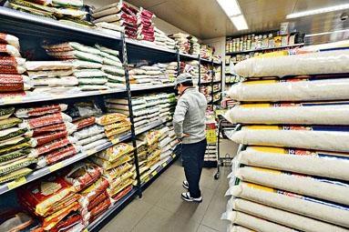 ■消委會公布超市價格調查,當中食米及茶包的升幅最高。