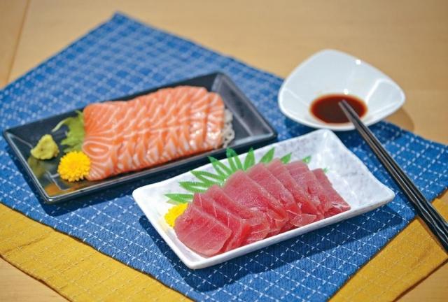 ■消委會抽查市面上十九款吞拿魚刺身,以及三十一款三文魚刺身。