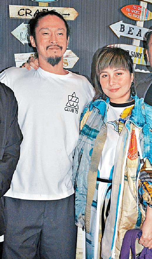 ■何超儀和丈夫陳子聰齊現身派對。