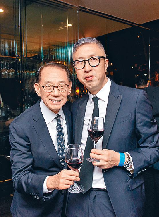 ■英皇老闆楊受成祝賀莊文強憑《無雙》勇奪最佳導演及最佳編劇等獎。