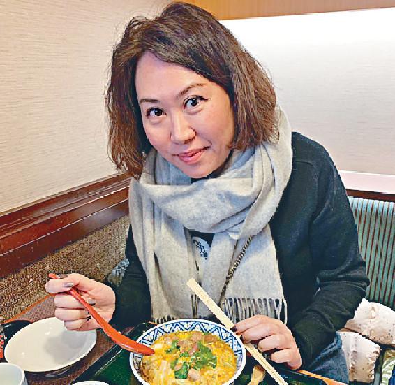 ■林煒珊每次去京都必會吃雞飯。