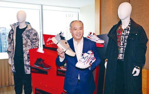 李寧今年首季同店銷售按年錄得10%至20%中段增長。圖為該公司創始人李寧。